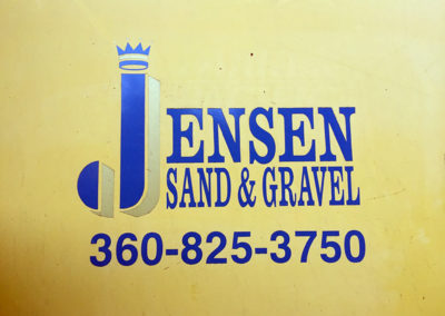 Jensen Sand and Gravel - logo